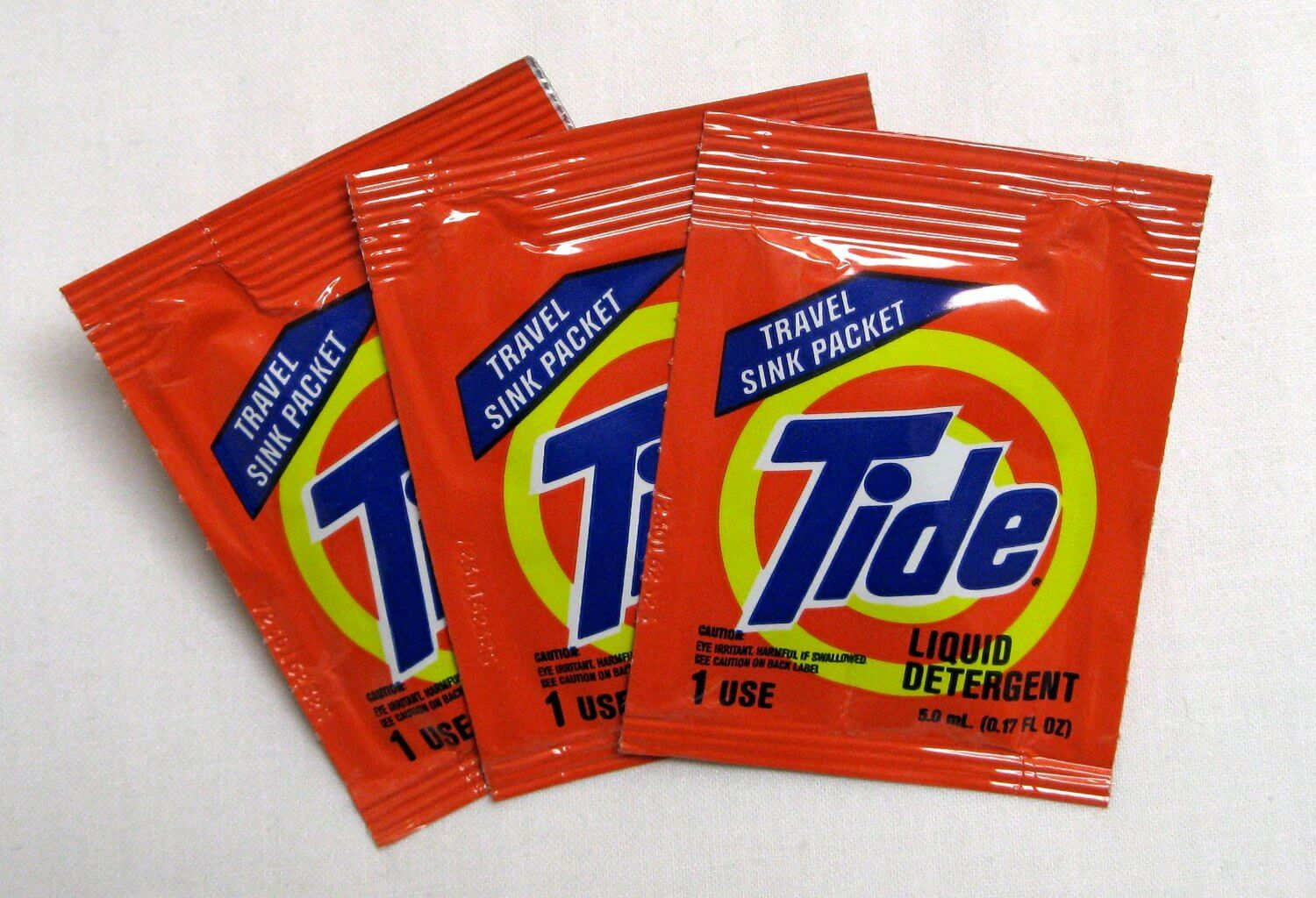 Tide-Travel-Sink-Packets